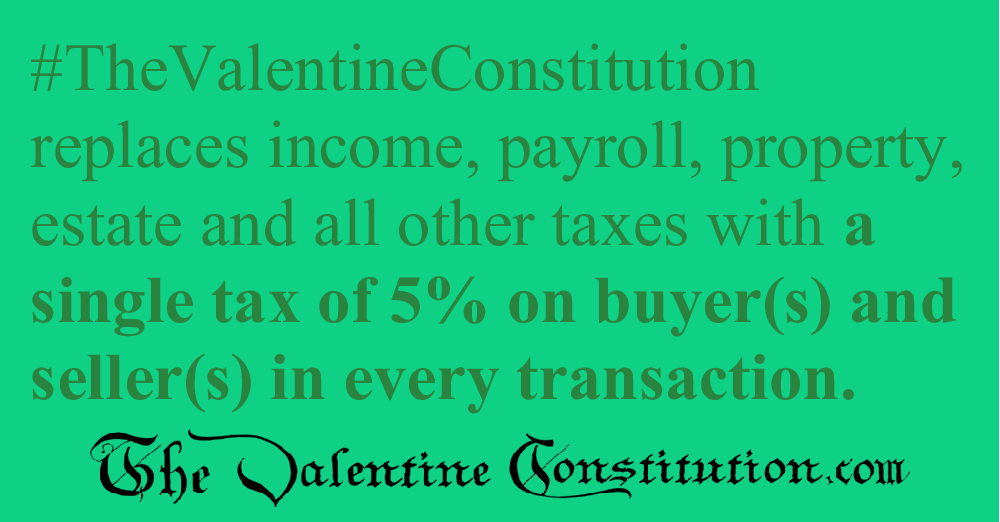 ECONOMY > SINGLE TAX > 5% from Buyer and Seller