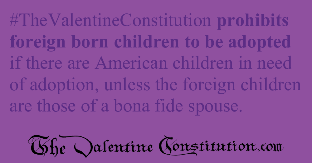 RIGHTS > CHILDRENS RIGHTS > Adoption Limits, No Surrogacy