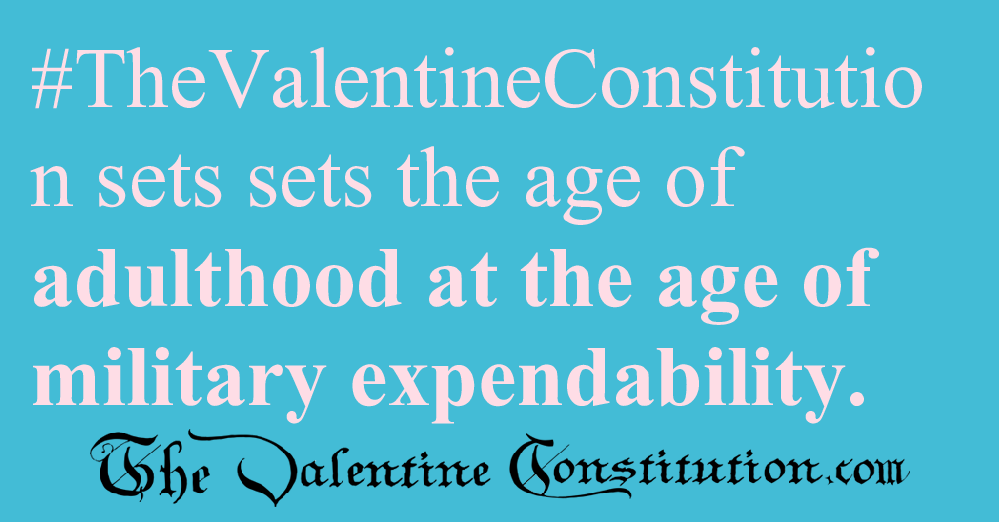 RIGHTS > FOUNDATIONAL RIGHTS > Age of Adulthood18