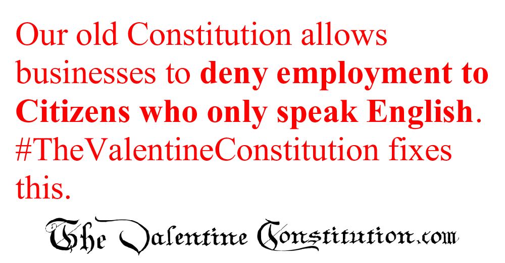 CONSTITUTIONS > WHAT'S WRONG with our CONSTITUTION? > American Culture