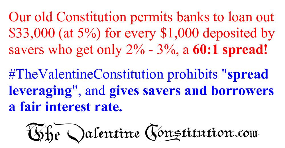 CONSTITUTIONS > COMPARE BOTH CONSTITUTIONS > Banking and Wall Street