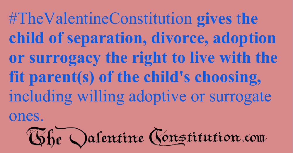 RIGHTS > CHILDRENS RIGHTS > Biological Parent Custodial Responsibilities