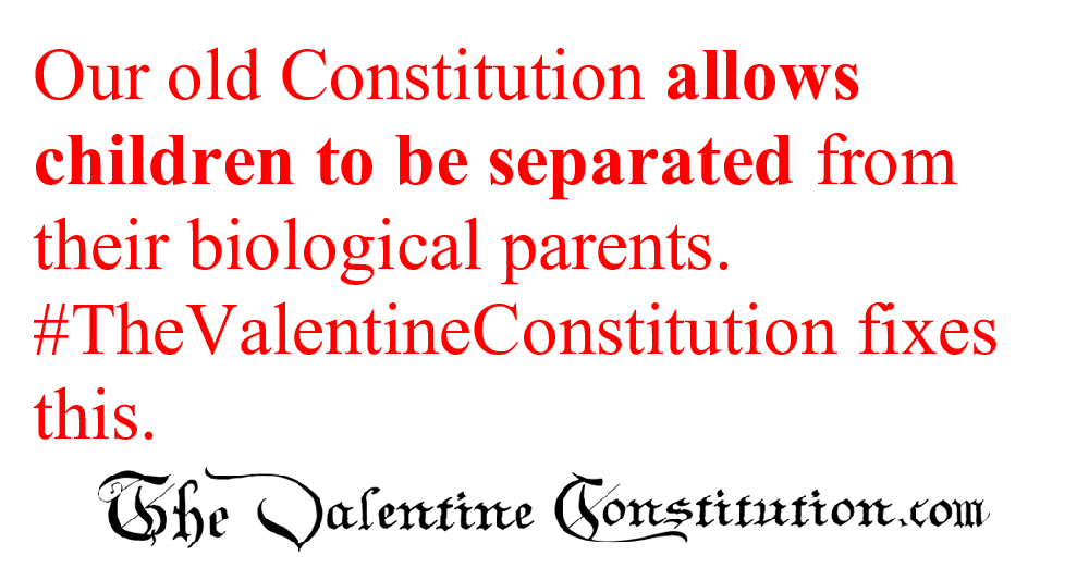 CONSTITUTIONS > WHAT'S WRONG with our CONSTITUTION? > Children's Rights
