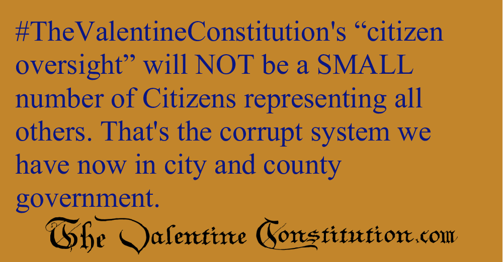 RIGHTS > FOUNDATIONAL RIGHTS > Citizen Oversight