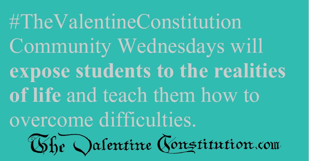 SCHOOLS > REAL WORLD SKILLS > Community Wednesdays