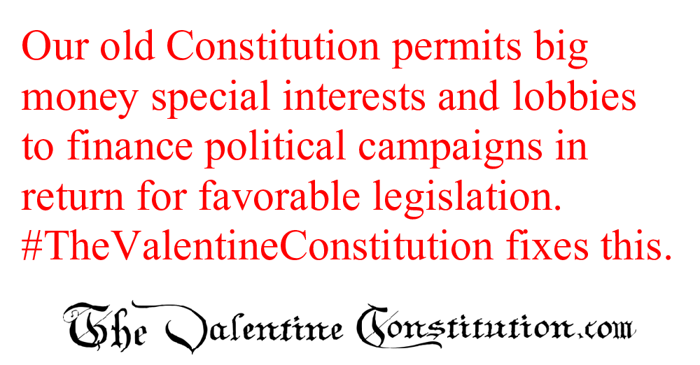 CONSTITUTIONS > WHAT'S WRONG with our CONSTITUTION? > Corruption, Lobbying and the Press