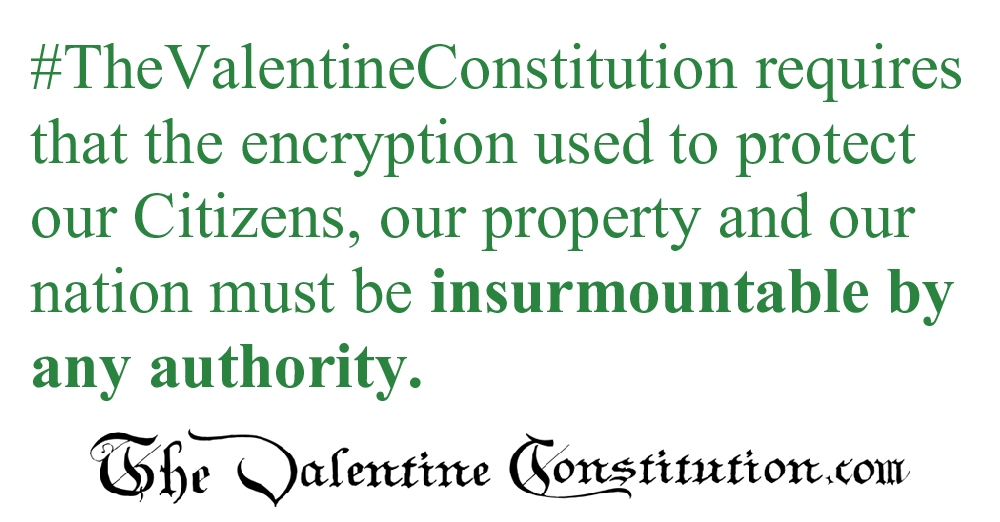 RIGHTS > PRIVACY > Encryption