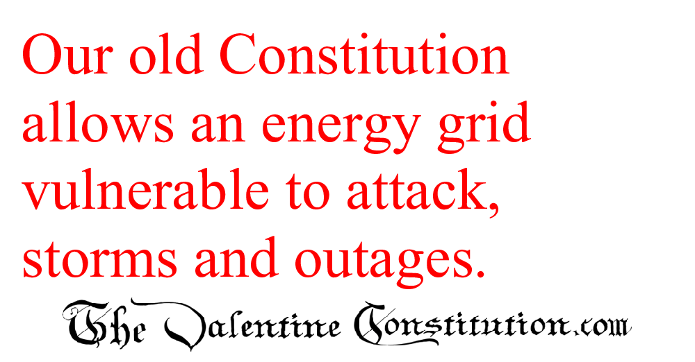 CONSTITUTIONS > WHAT'S WRONG with our CONSTITUTION? > Energy
