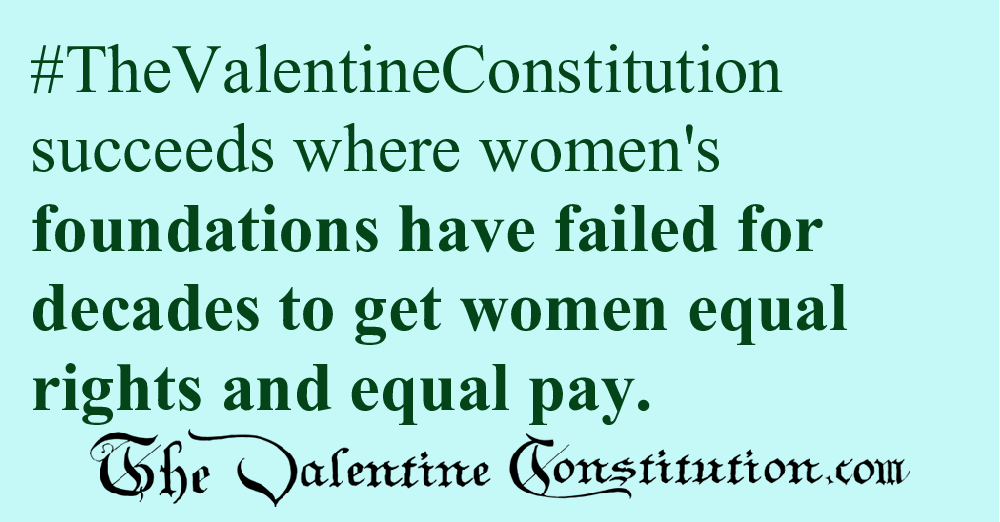RIGHTS > WOMEN > Equal Rights and Equal Pay