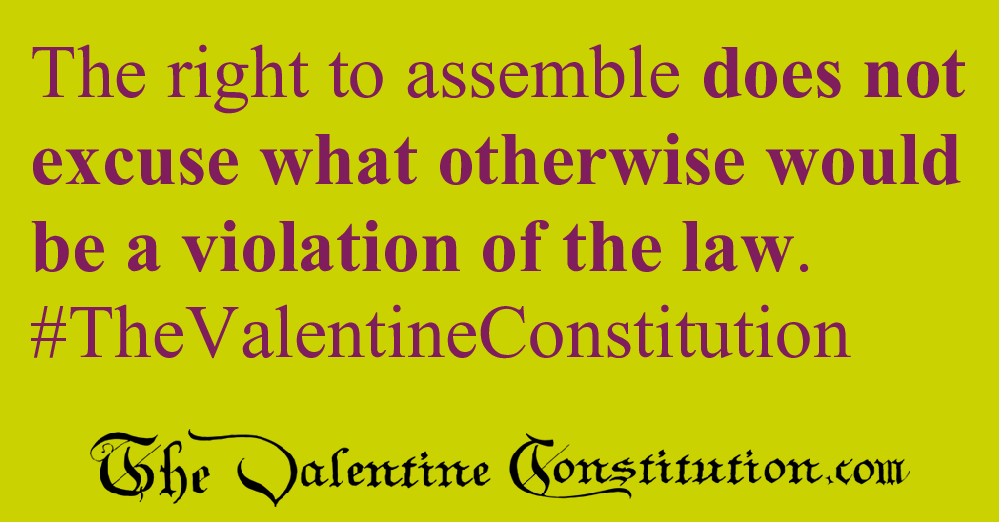 RIGHTS > FOUNDATIONAL RIGHTS > Freedom of Assembly