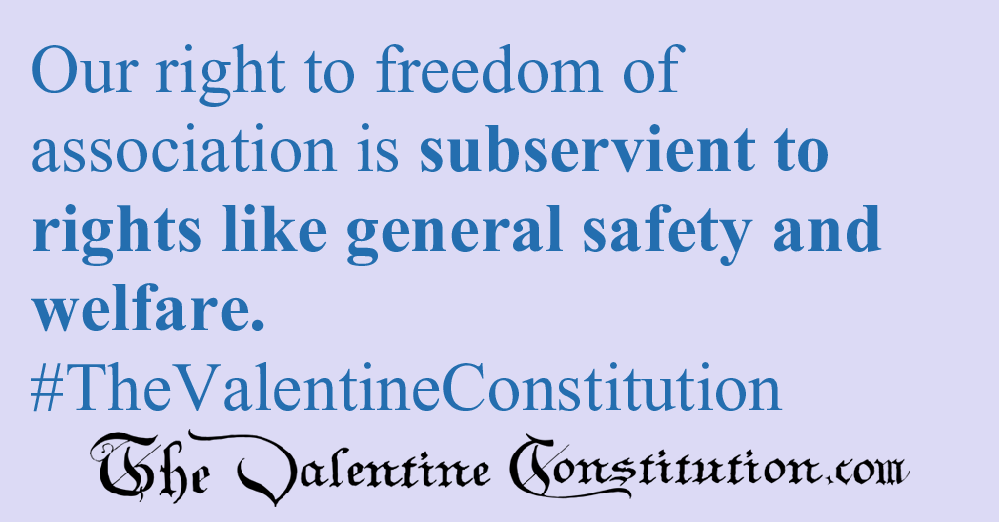 RIGHTS > FOUNDATIONAL RIGHTS > Freedom of Association
