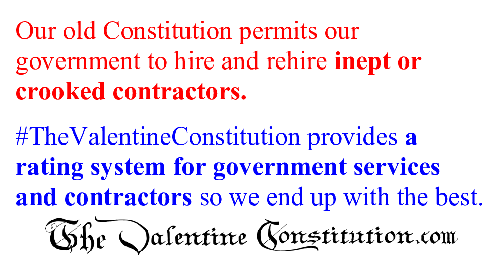 CONSTITUTIONS > COMPARE BOTH CONSTITUTIONS > Government Contractors