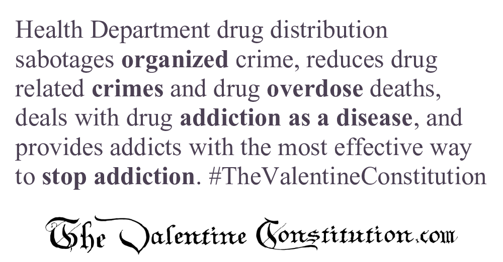 RIGHTS > MARIJUANA and DRUGS > Health Department Drug Distribution