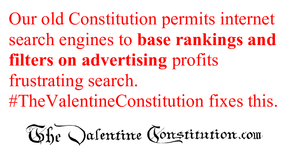 CONSTITUTIONS > WHAT'S WRONG with our CONSTITUTION? > Internet Marketplace
