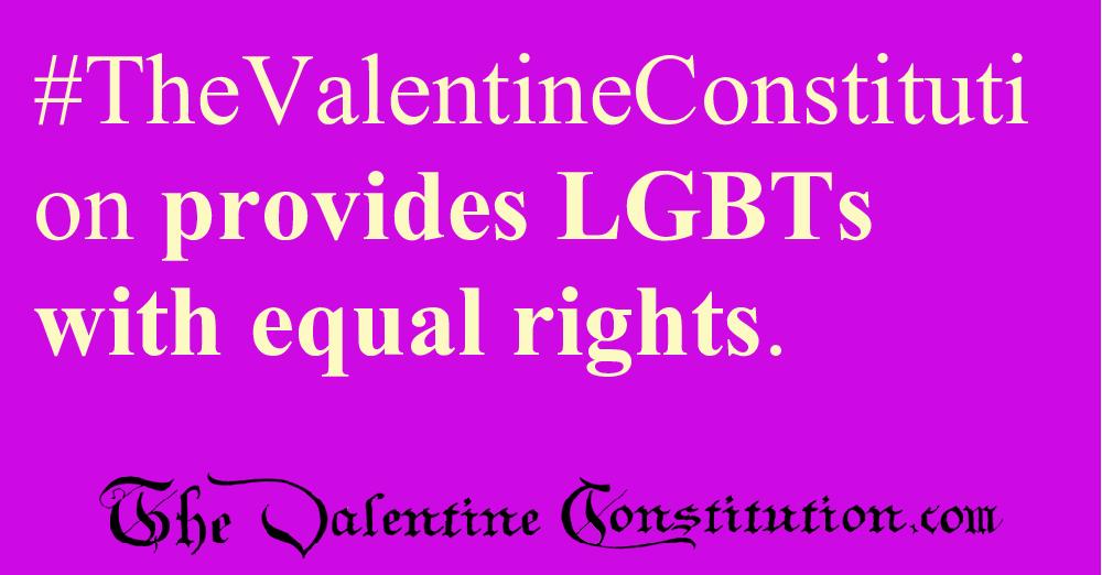 RIGHTS > LGBTs > LGBT Equality