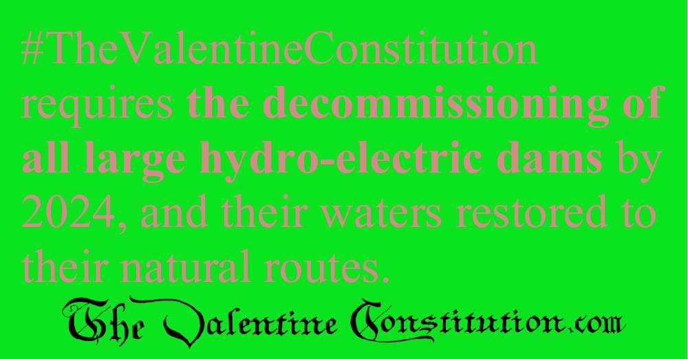 ENVIRONMENT > WATER > No Dams