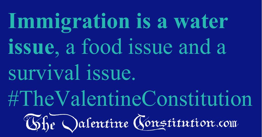 ENVIRONMENT > POPULATION > No Immigration, No Asylum