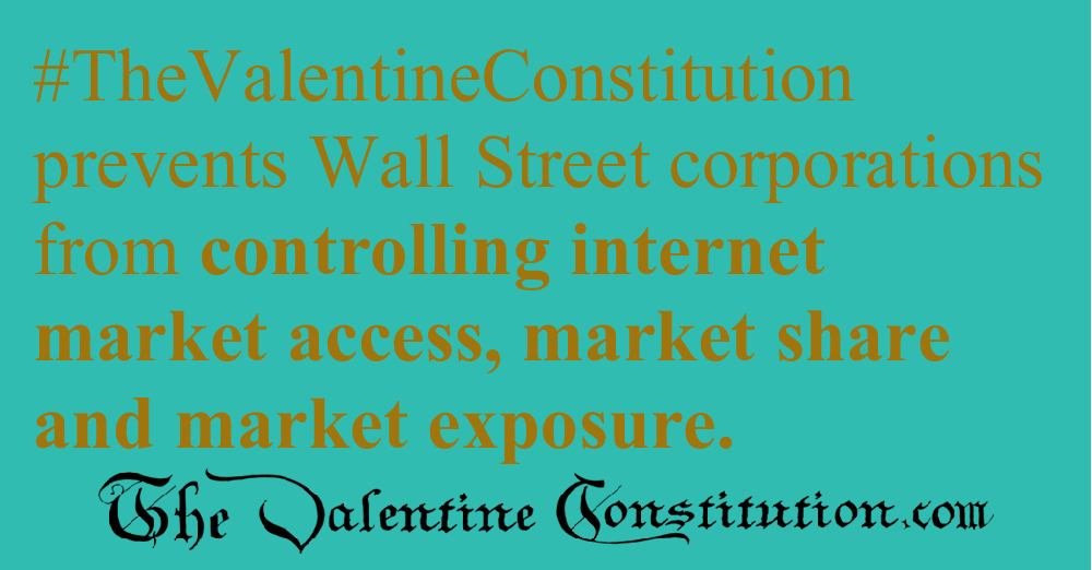 ECONOMY > INTERNET MARKETPLACE > No Internet Monopolies