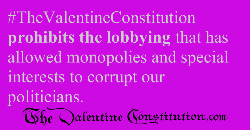 CAMPAIGN CORRUPTION > ELECTIONS > No Lobbying