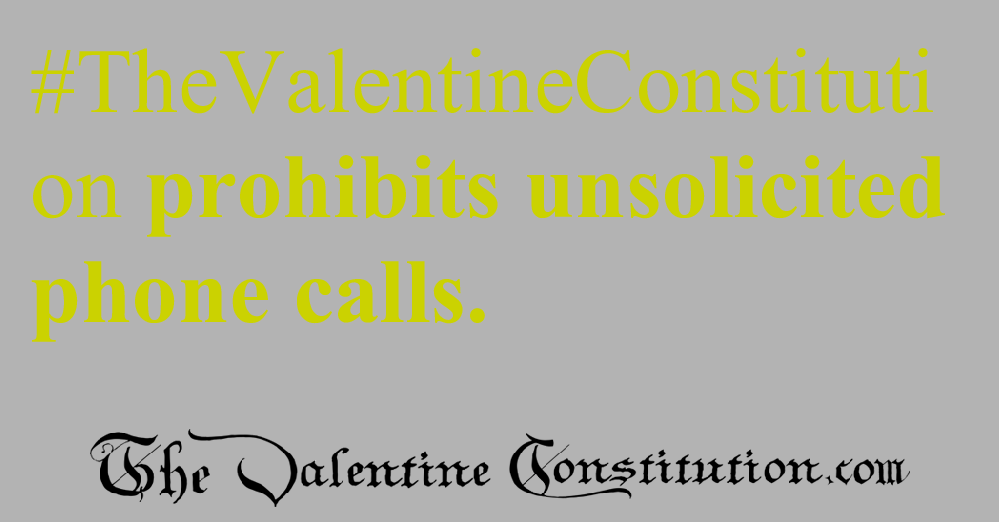 RIGHTS > PRIVACY > No Telemarketing