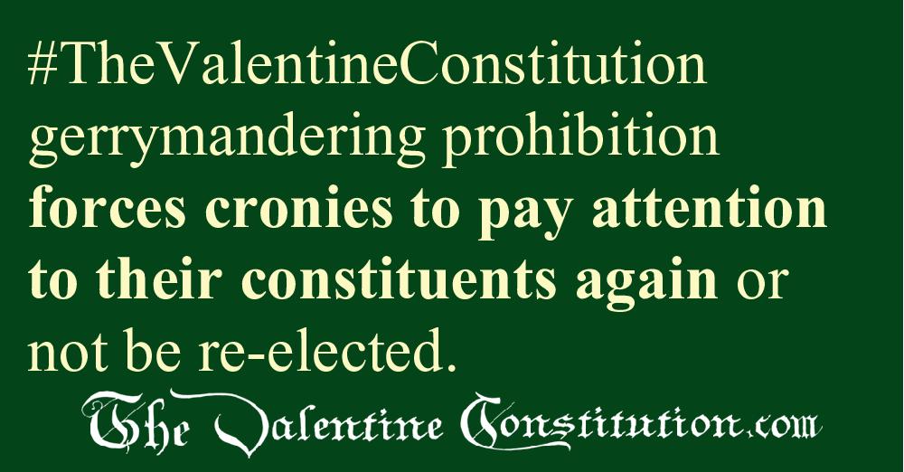 CAMPAIGN CORRUPTION > ELECTIONS > No Gerrymandering