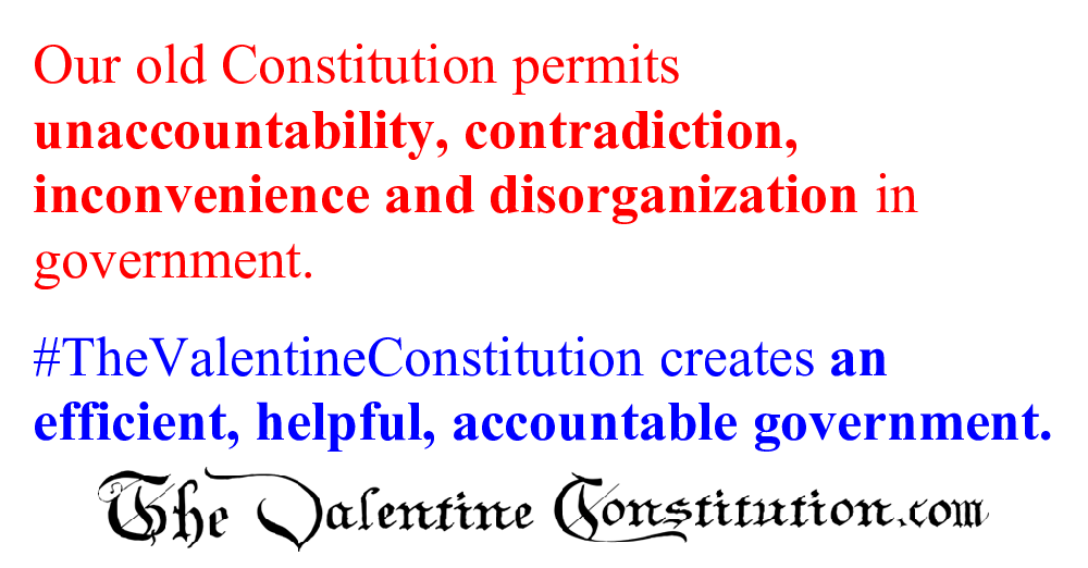 CONSTITUTIONS > COMPARE BOTH CONSTITUTIONS > Overlap and Inefficiency