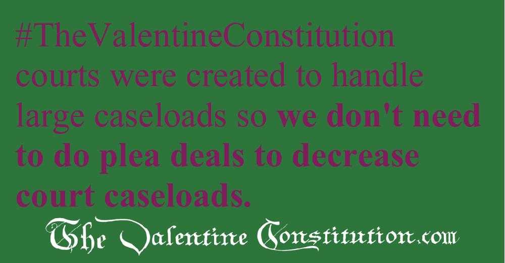 JUDICIARY BRANCH > COURTS > Plea Deals vs Leniency