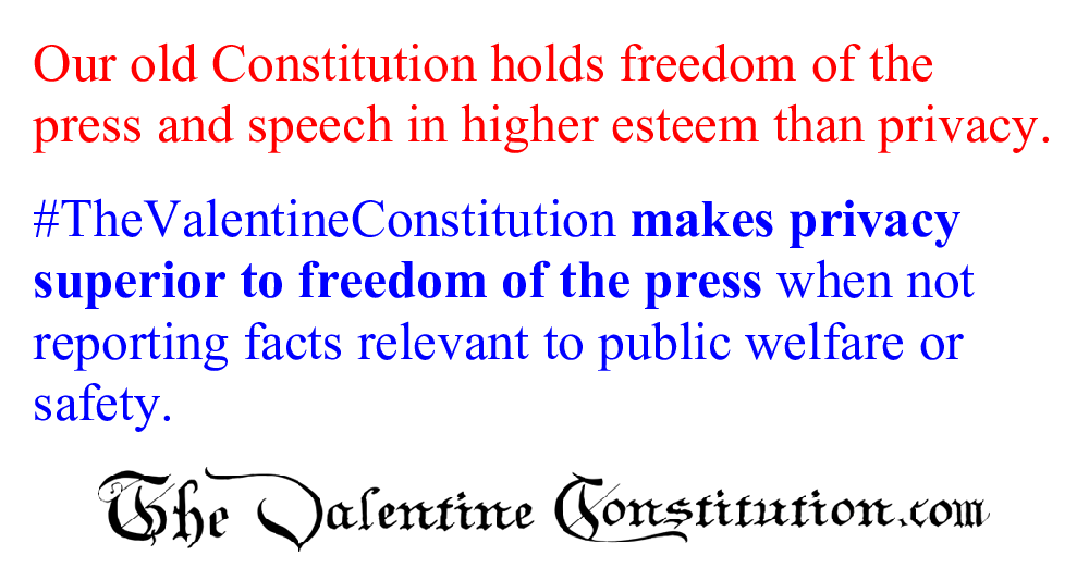 CONSTITUTIONS > COMPARE BOTH CONSTITUTIONS > Privacy