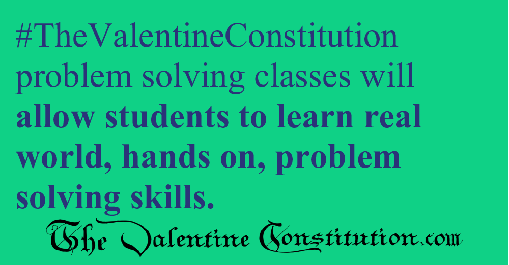 SCHOOLS > REAL WORLD SKILLS > Problem Solving Class