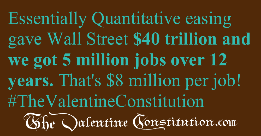 ECONOMY > JOBS > Quantitative Easing