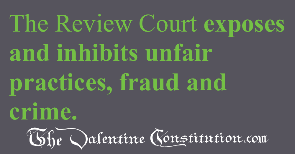 JUDICIARY BRANCH > COURTS > Review Court