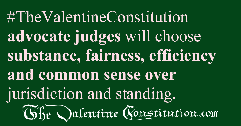 JUDICIARY BRANCH > COURTS > Standing