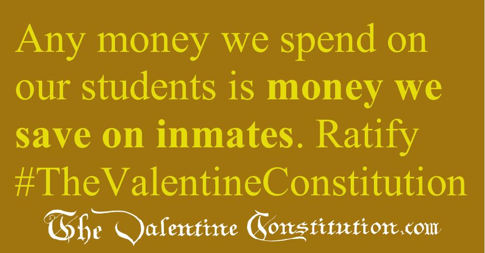 SCHOOLS > SCHOOL FUNDING > Student vs Inmate Costs