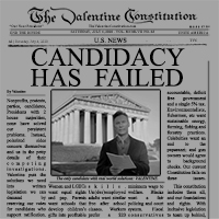 Candidacy has Failed