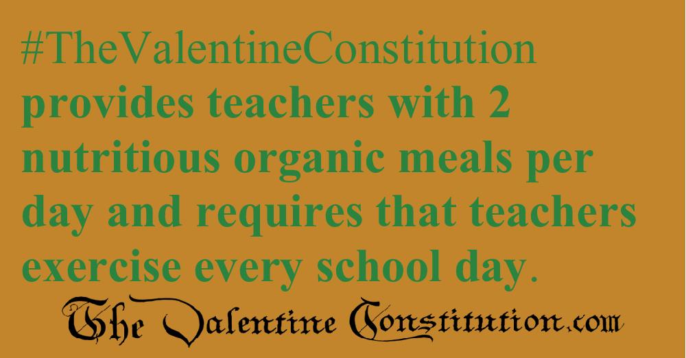 SCHOOLS > TEACHERS > Teaches Daily Exercise