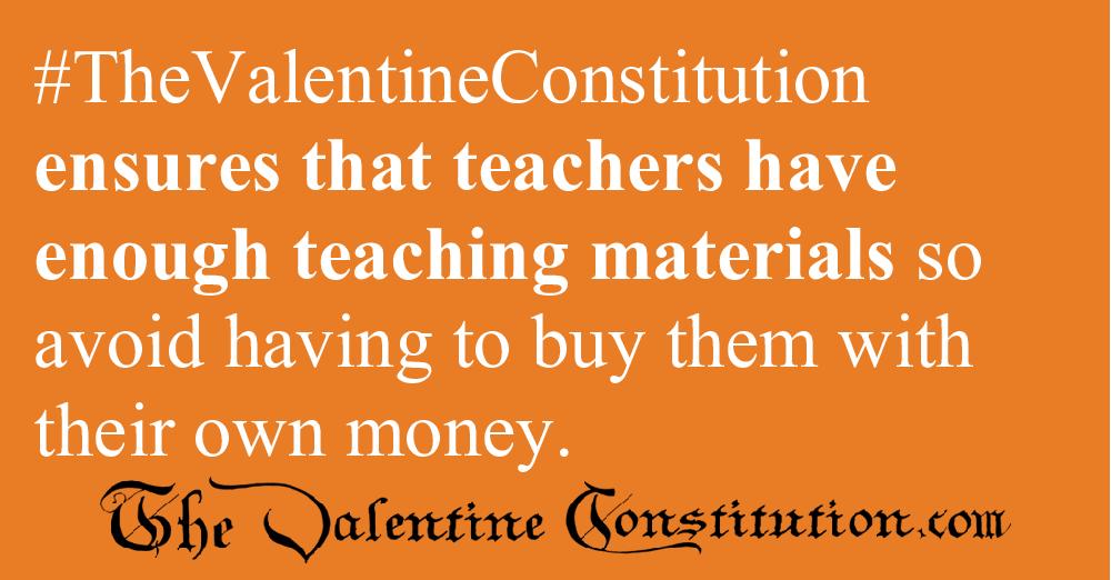 SCHOOLS > TEACHERS > Teachers Pay and Supplies
