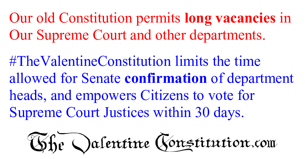 CONSTITUTIONS > COMPARE BOTH CONSTITUTIONS > Vacancies and Appointments