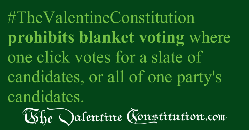 CAMPAIGN CORRUPTION > ELECTIONS > Voting