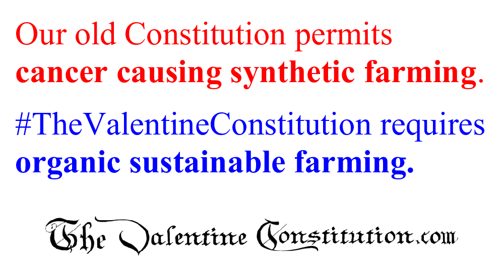 CONSTITUTIONS > COMPARE BOTH CONSTITUTIONS > Water and Food