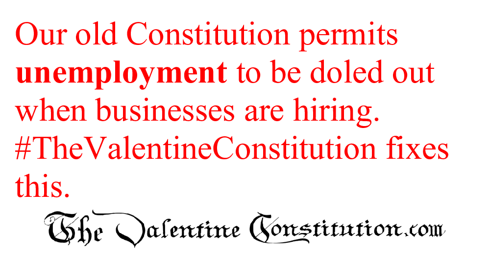 CONSTITUTIONS > WHAT'S WRONG with our CONSTITUTION? > Welfare