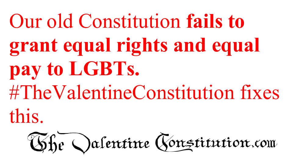 CONSTITUTIONS > WHAT'S WRONG with our CONSTITUTION? > Women and LGBT Equal Rights